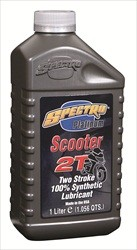 Spectro Platinum Full Synthetic Scooter 2T Injector Oil 1-L. - Case of 12